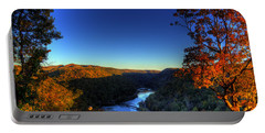 Portable Battery Charger featuring the photograph Overlook In The Fall by Jonny D