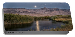 Owens River Moonrise Portable Battery Charger