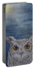 Owl By Moonlight Portable Battery Charger