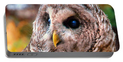 Owl Gaze Portable Battery Charger
