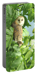 Portable Battery Charger featuring the photograph owl by Rod Wiens