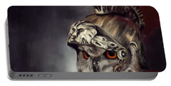 Owl Roman Warrior Portable Battery Charger