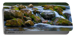 Ozark Waterfall Portable Battery Charger by Steve Stuller