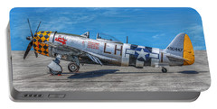 P-47 Thunderbolt Airplane Wwii Side Portable Battery Charger