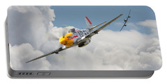 P51 Mustang And Me 262 Portable Battery Charger