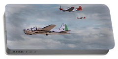 P51 Red Tails - Bringing Them Home Portable Battery Charger