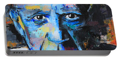 Pablo Picasso Portable Battery Charger by Richard Day