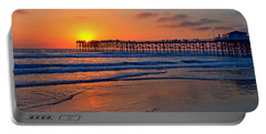 Pacific Beach Pier - Ex Lrg - Widescreen Portable Battery Charger