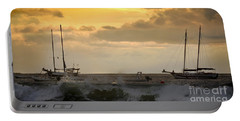 Portable Battery Charger featuring the photograph Pacific Coastal Sunset by Gary Keesler