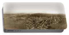 Pacific Grove 1200 From Feet Above Lovers Point And Monterey Bay 1906 Portable Battery Charger