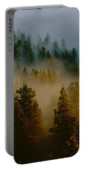 Pacific Northwest Morning Mist Portable Battery Charger