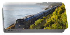 Pacific Surfliner Along The Central Coast Portable Battery Charger