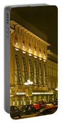 Pacific Theatres In San Diego At Night Portable Battery Charger