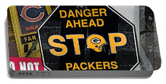 Packers Country Portable Battery Charger