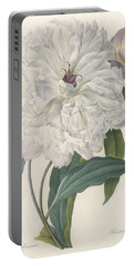 Paeonia Flagrans Peony Portable Battery Charger