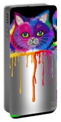 Paint Can Cat Portable Battery Charger