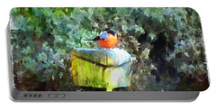 Painted Bullfinch S1 Portable Battery Charger