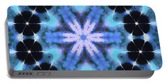 Painted Cymatics 108.00hz Portable Battery Charger by Derek Gedney