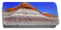 Portable Battery Charger featuring the photograph Painted Desert National Park by Bob and Nadine Johnston