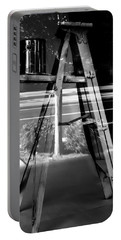 Portable Battery Charger featuring the photograph Painted Illusions - Abstract by Steven Milner