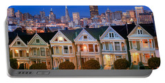 Painted Ladies Portable Battery Charger by Inge Johnsson
