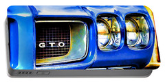 Painted Pontiac Portable Battery Charger