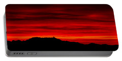 Portable Battery Charger featuring the photograph Painted Sky 36 by Mark Myhaver