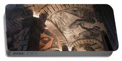 Painted Vaults Portable Battery Charger by Lynn Palmer