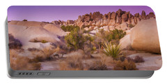 Painterly Desert Portable Battery Charger