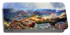 Painting The Grand Canyon Portable Battery Charger
