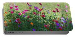 Painty Roadside Flowers Portable Battery Charger