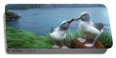 Pair Of Grey-headed Albatross Portable Battery Charger