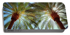 Pair Of Palms Vegas Style Portable Battery Charger
