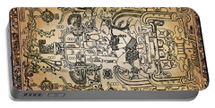 Portable Battery Charger featuring the photograph Pakal Sarcophagus Lid 2 by Gary Keesler