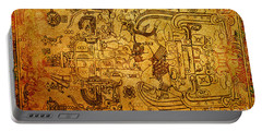 Portable Battery Charger featuring the photograph Pakal Sarcophagus Lid 3 by Gary Keesler
