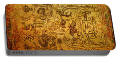 Portable Battery Charger featuring the photograph Pakal Sarcophagus Lid 4 by Gary Keesler