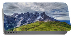 Portable Battery Charger featuring the photograph Pale San Martino - Hdr by Antonio Scarpi