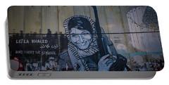 Palestinian Graffiti Portable Battery Charger