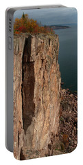 Portable Battery Charger featuring the photograph Palisade Depths by James Peterson