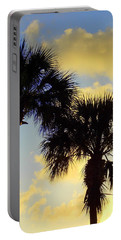 Palm Sunrise Portable Battery Charger
