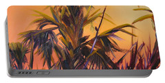 Palmettos At Dusk Portable Battery Charger