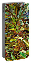 Portable Battery Charger featuring the photograph Palms by Tom Prendergast