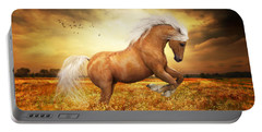 Palomino Horse Sundance  Portable Battery Charger