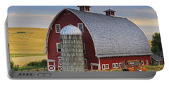 Palouse Barn - Est. 1919 Portable Battery Charger by Mark Kiver