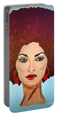 Pam Grier C1970 The Original Diva Portable Battery Charger