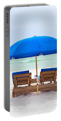 Panama City Beach Florida Portable Battery Charger by Vizual Studio