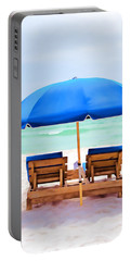 Portable Battery Charger featuring the photograph Panama City Beach II by Vizual Studio