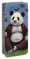 Panda Buddha Portable Battery Charger