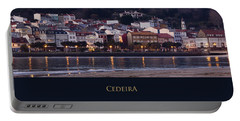 Panorama Of Cedeira Galicia Spain Portable Battery Charger