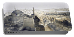 Panoramic View Of Constantinople Portable Battery Charger